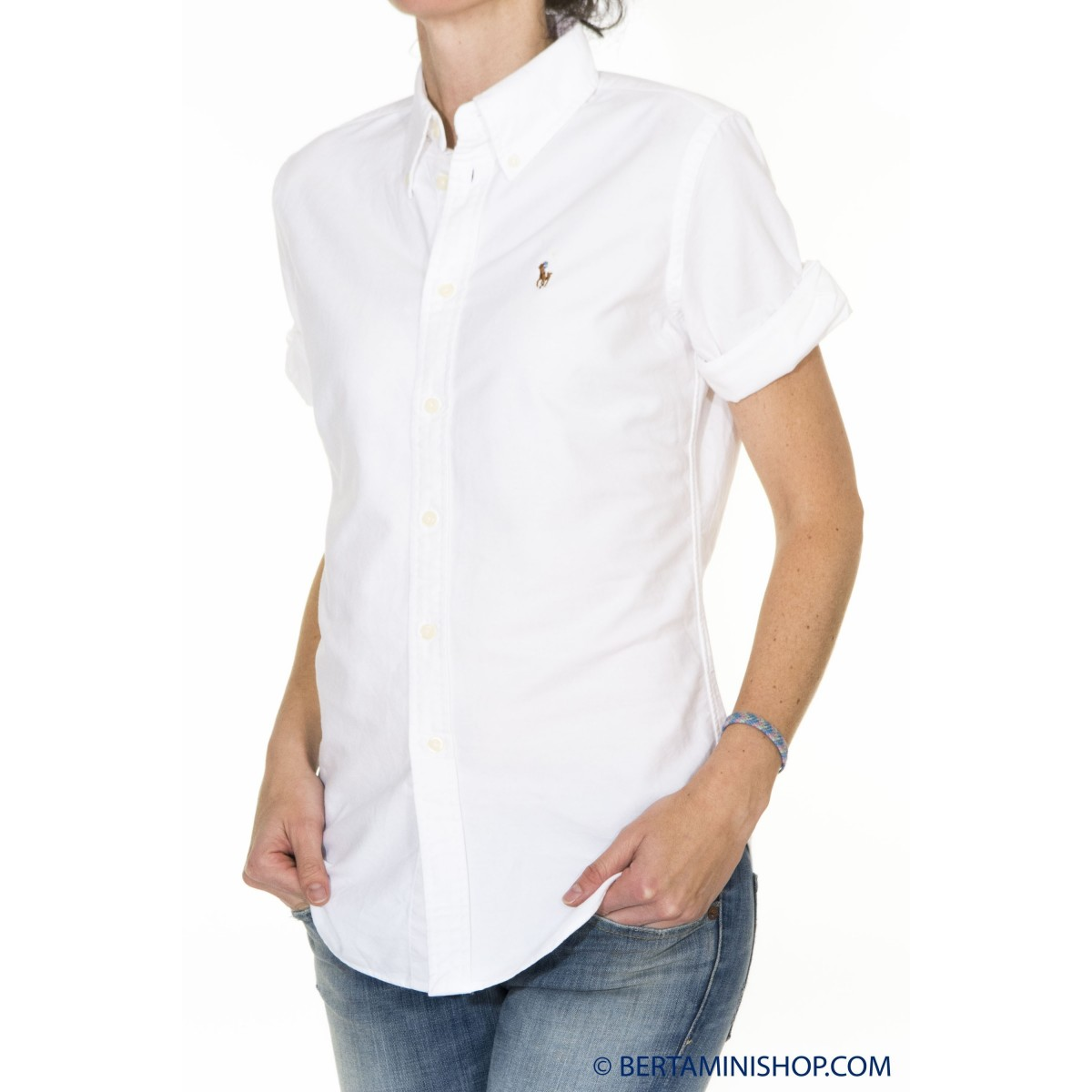 Camicia Ralph Lauren Donna - V33Ih843Bh843 B11D1 - Bianco