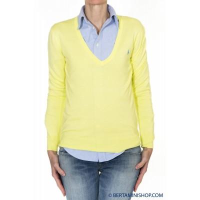Maglia donna Ralph lauren - V39ih635bh635 maglia cotone B7H10 - Lime