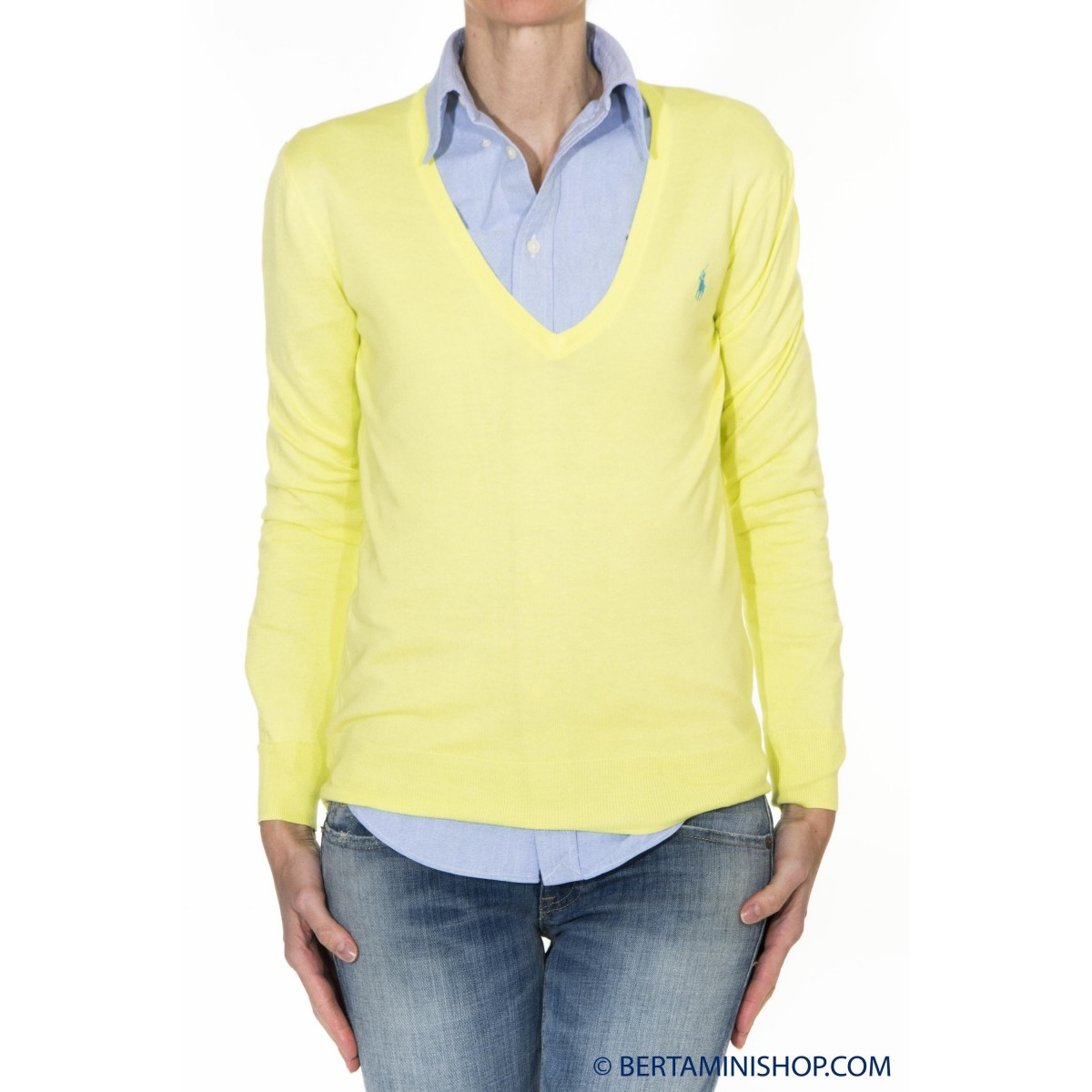 Sweater Ralph Lauren Damen - V39Ih635Bh635 B7H10 - Lime