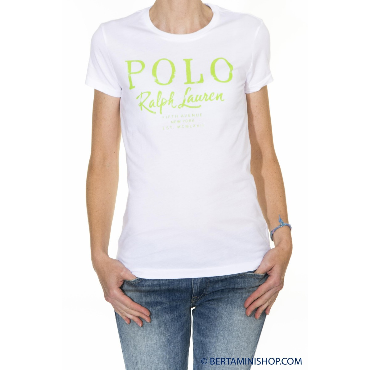 T-shirt donna Ralph lauren - V38ih624bh624 tshirt logo B1H07