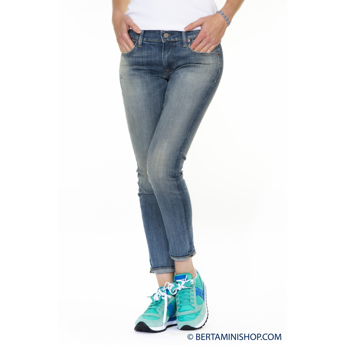 Jeans Ralph Lauren Donna - V60Ie189Be110 Jeans Strech Slim