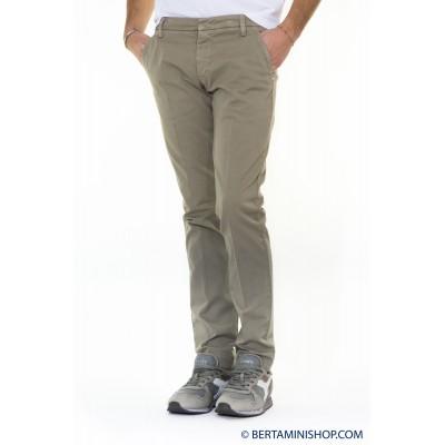 Pantalone uomo Entre amis - 8201/292l17 gabardina strech 505 - Nocciola