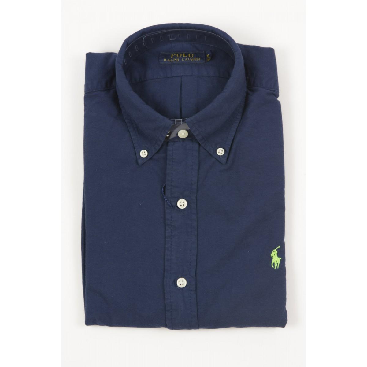 Shirt Ralph Lauren Man - A04W3Bdccgmox A4004 - blu