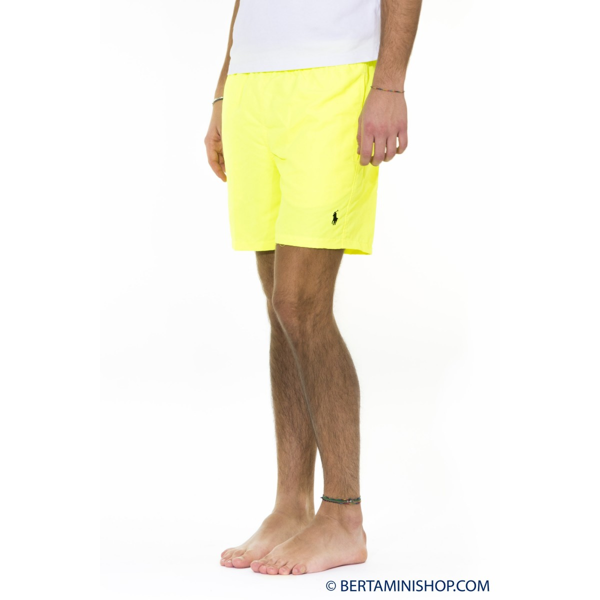 Badehosen Ralph Lauren Manner - A75Aww12Yy501 Short Fluo A7800 - Giallo fluo