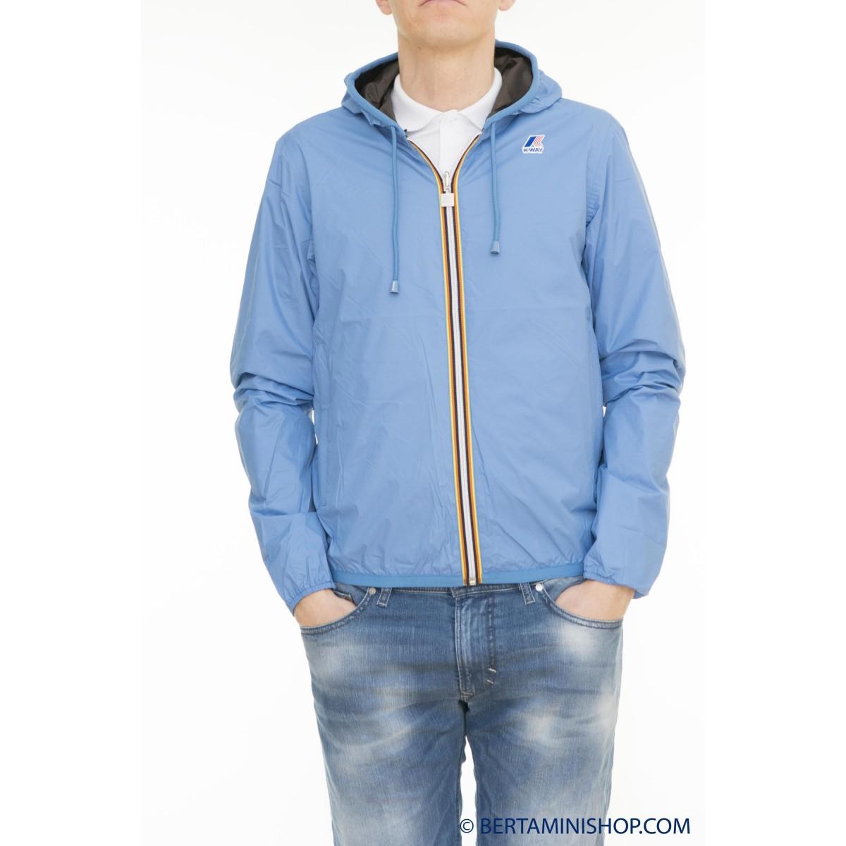 Sports Jacket K-Way Man - Jacques Plus Double K002XP0 937 - Parisian Coffe