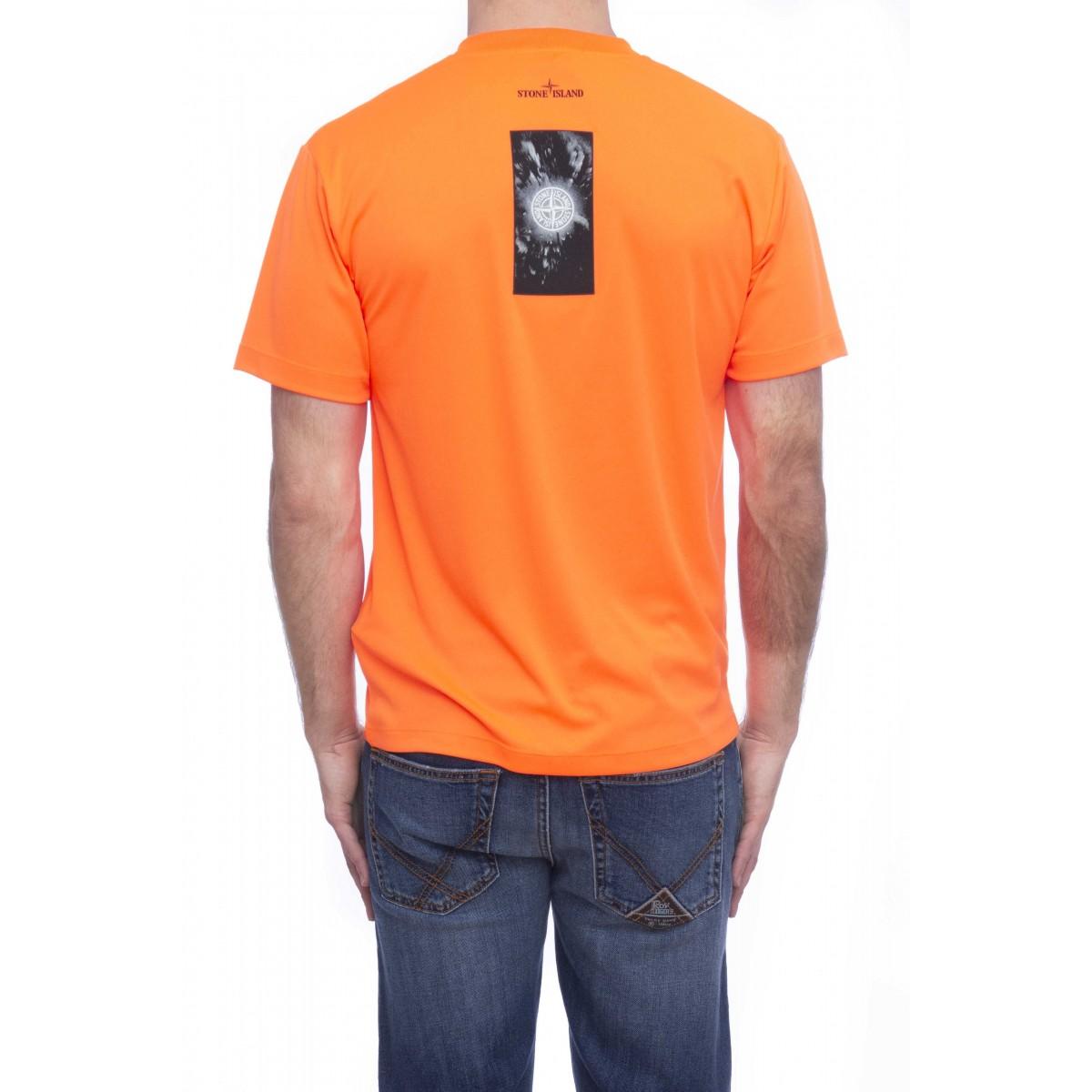 T-shirt uomo - 2ns80 tessuto tecnico graphic three