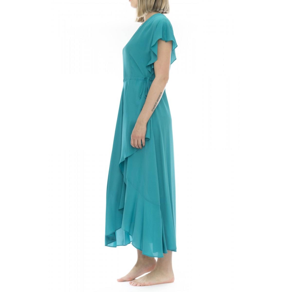 Vestito - 2079 vestito lungo seta