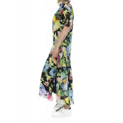 Vestito - 2481 vestito fantasia fiori