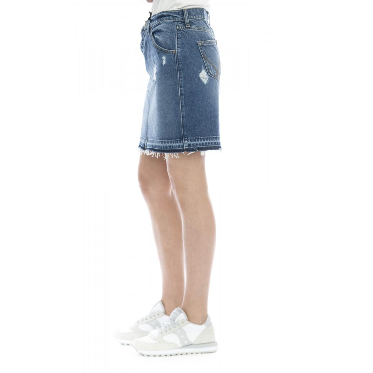 Gonna - Skirt noemi gonna jeans