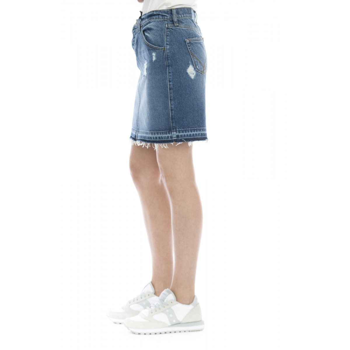 Gonna - Skirt noemi gonna jeans