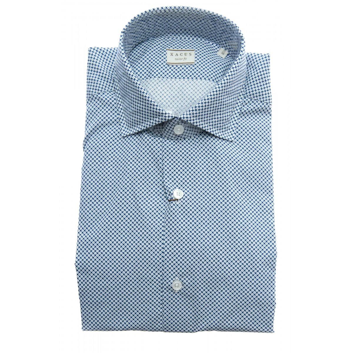 Camicia uomo - 748 41501 stampa su popeline