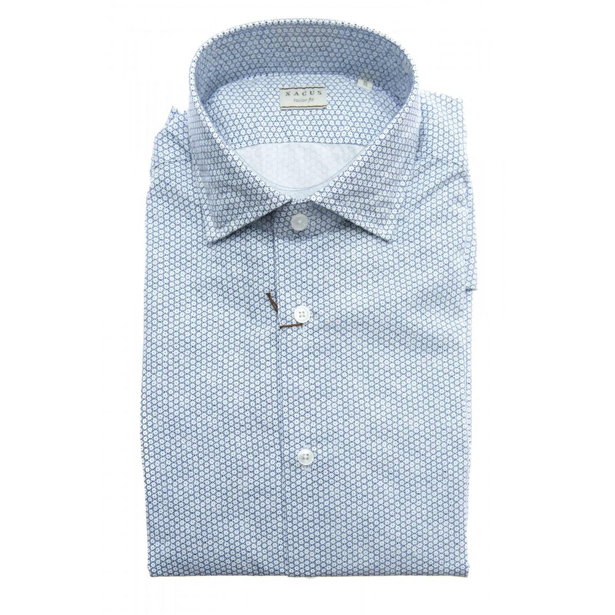 Camicia uomo - 748 41528 stampa su popeline