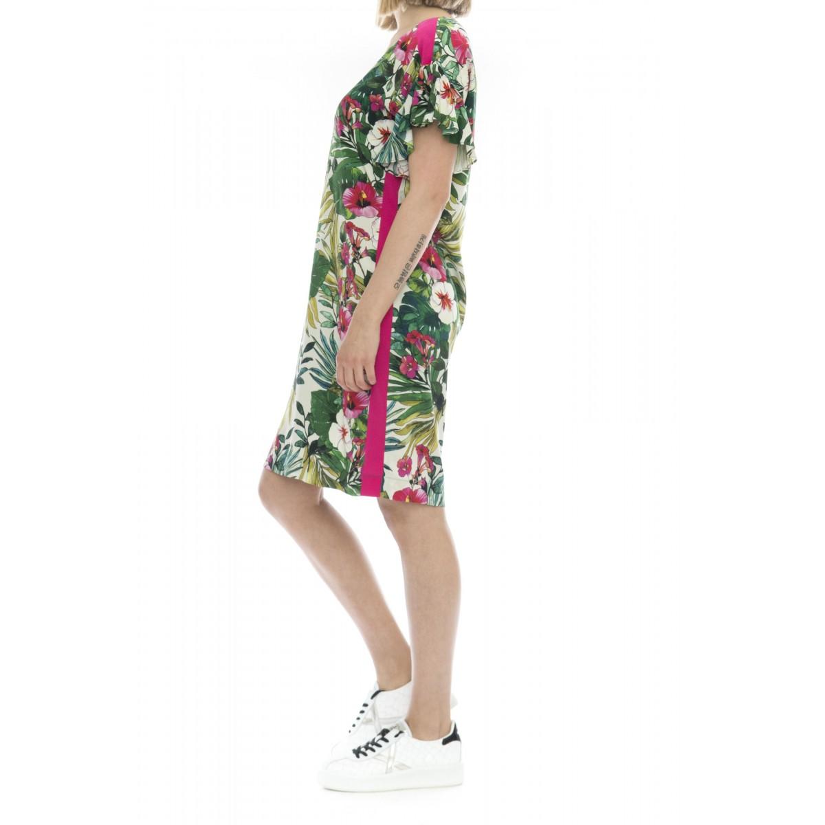Vestito - Kristin vestito tunica fiori