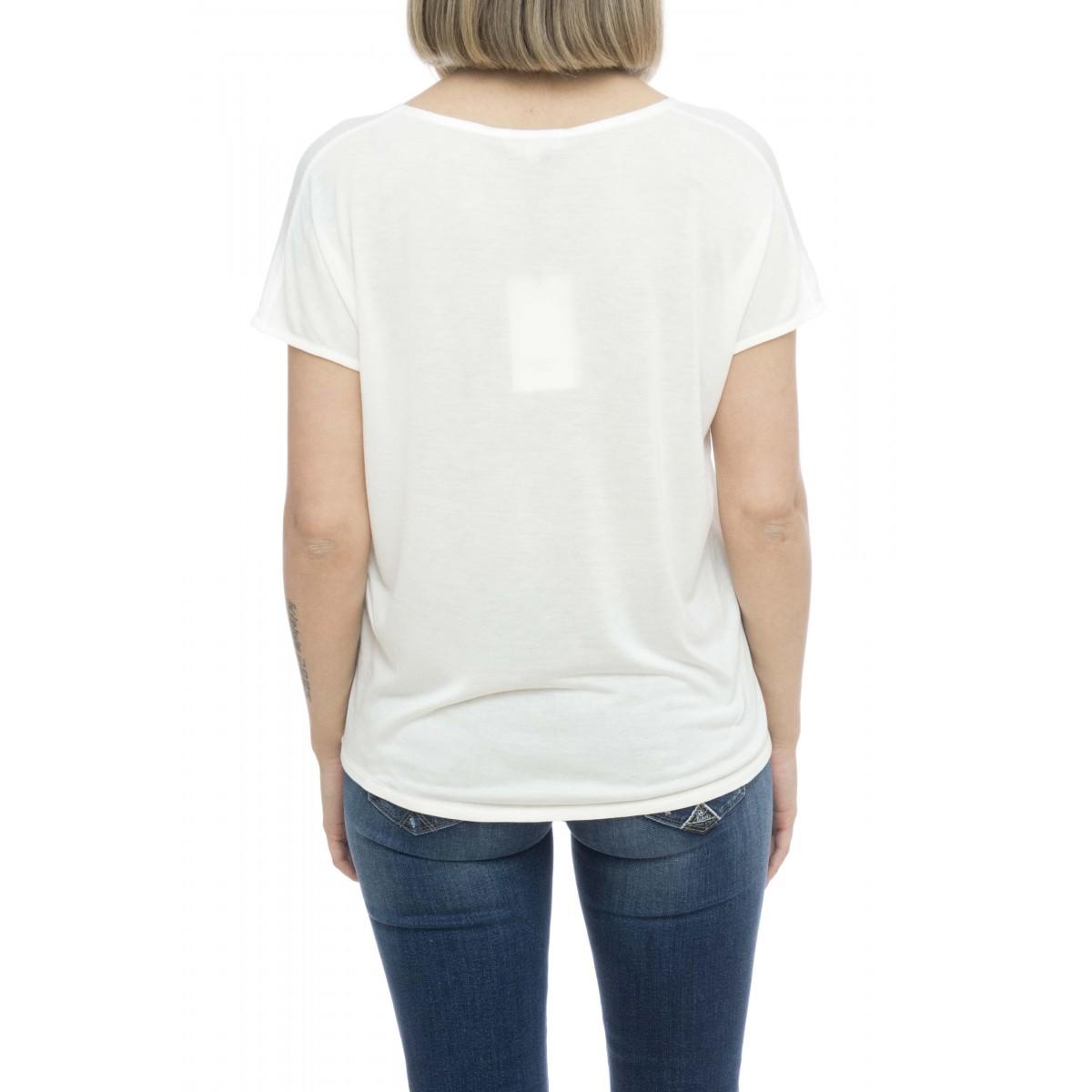 T-shirt donna - Milac t-shirt doppio tessuto