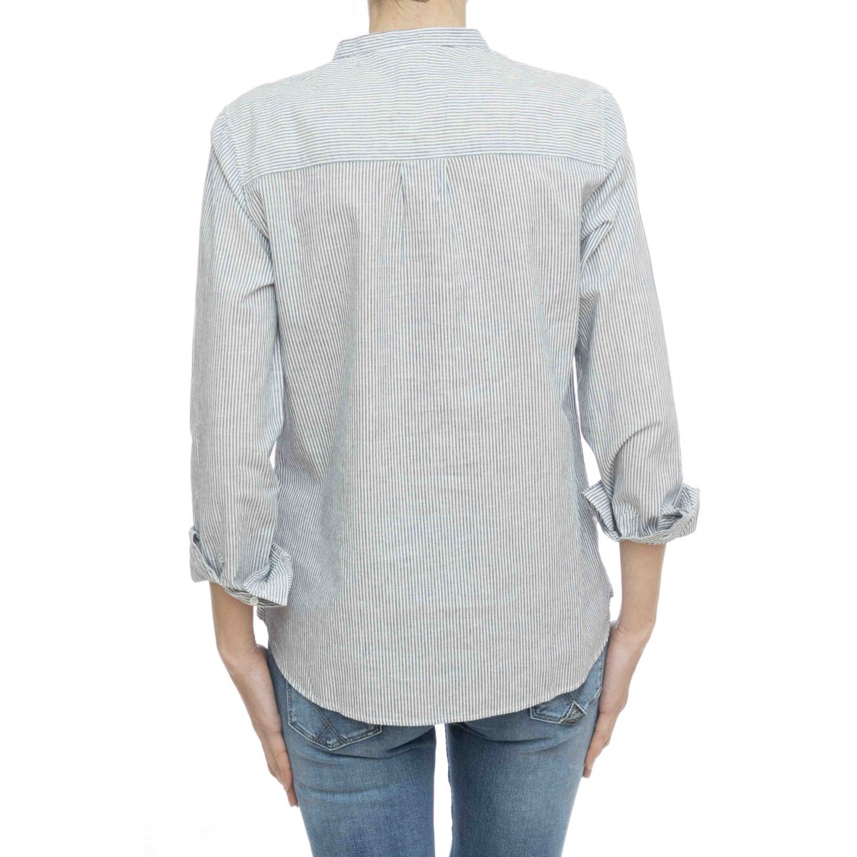 Camicia donna - S19202 camicia coreana righine