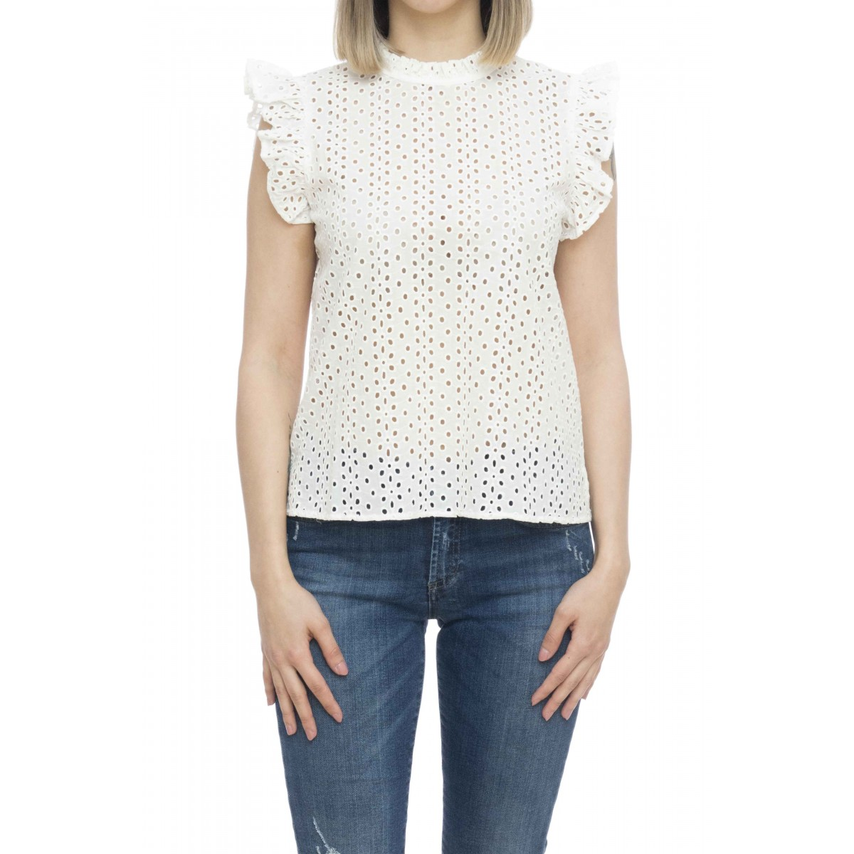 Camicia donna - S19213 camicia san gallo