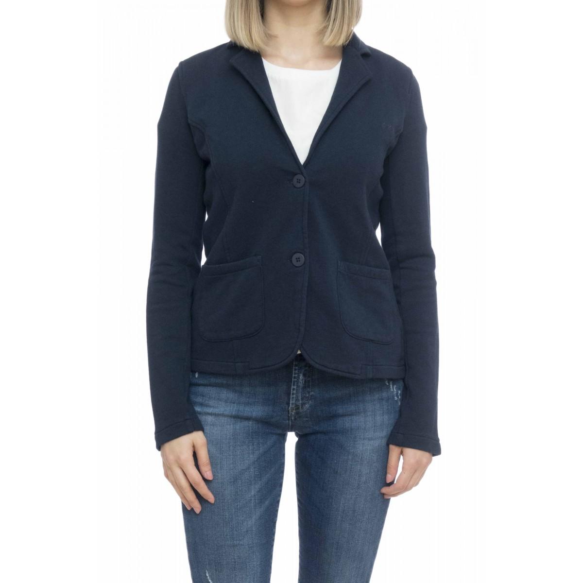 Felpa donna - F19205 giacchina felpa