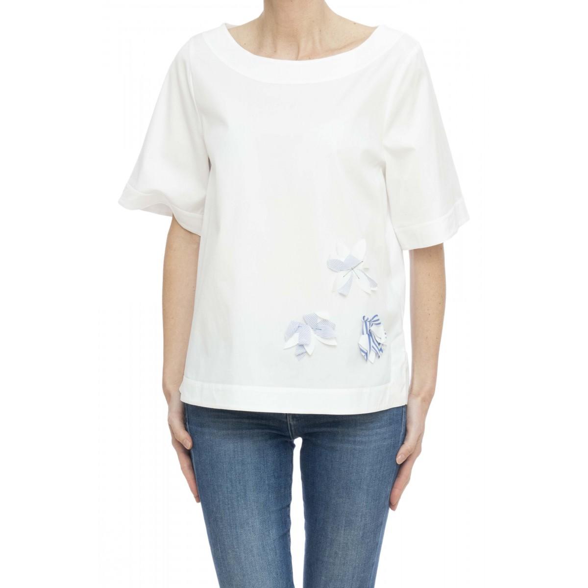 Camicia donna - Fiamma 2 45713 ricamo fiori