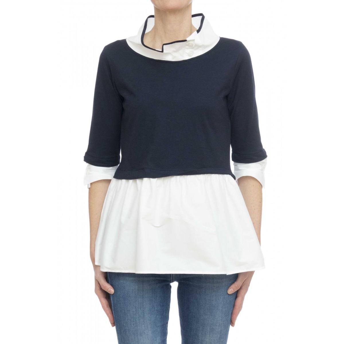 Camicia donna - Francesca 45915 camciia bi tessuto