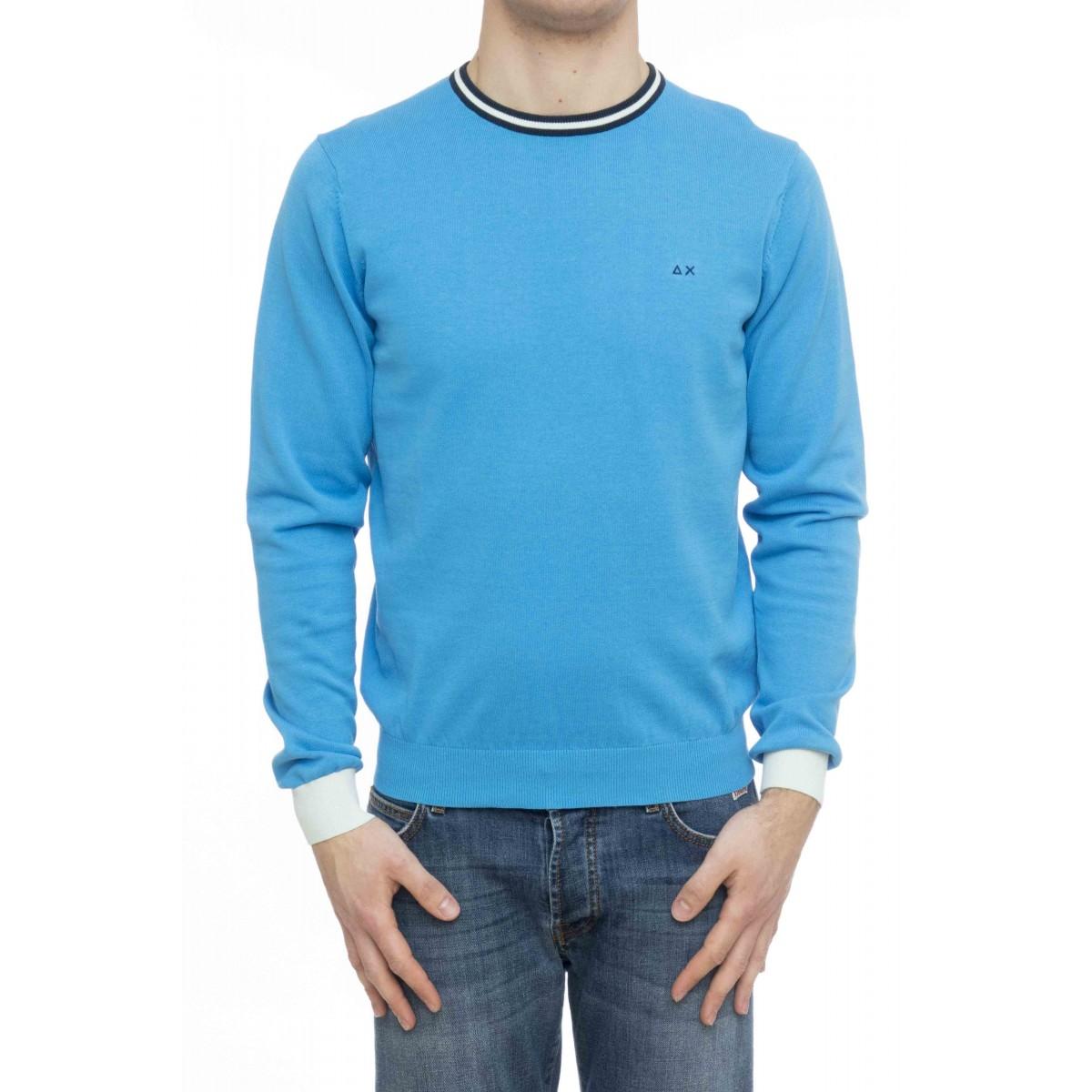 Maglia uomo - K19107 maglia giro bordino