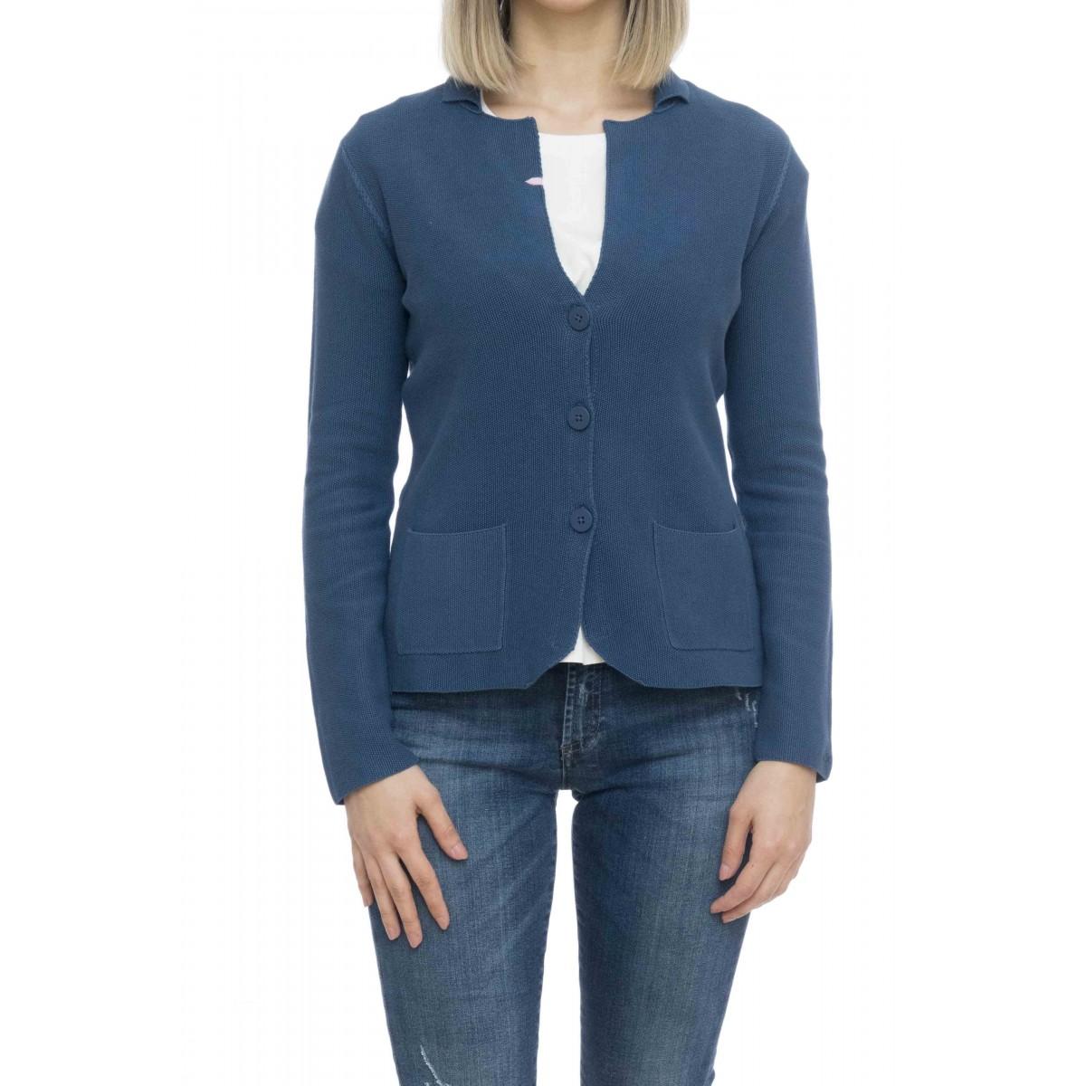 Giacca donna - K19205 giacchina grana di riso