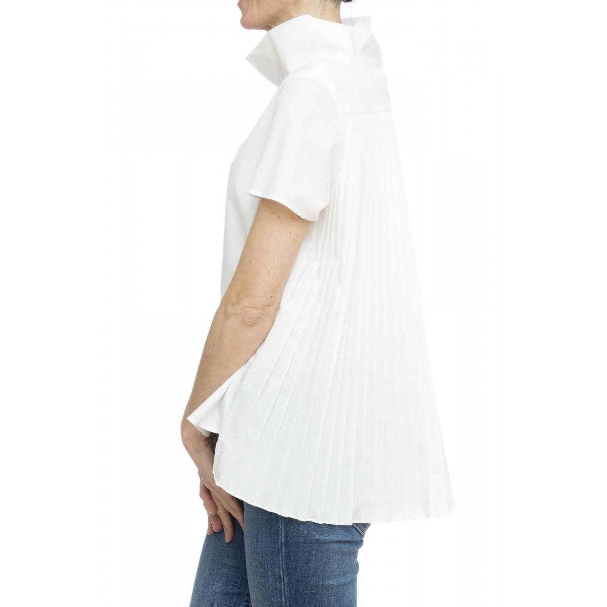 Camicia donna - Ludovica 45141 camicia plisses schiena