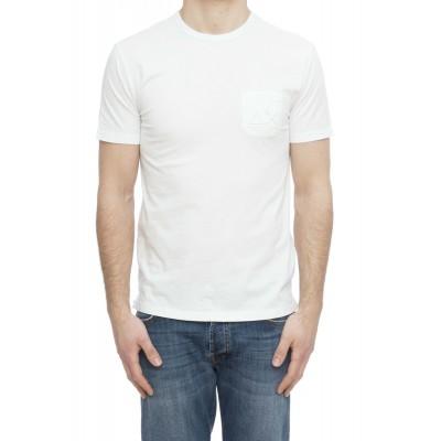 T-shirt uomo - T19107 t-shirt taschino macro logo