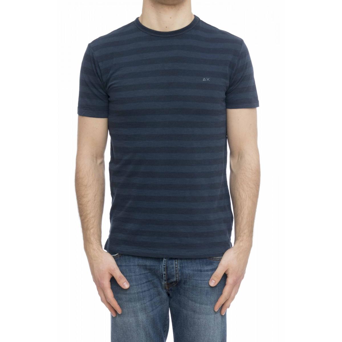 T-shirt uomo - T19110 t-shirt rigata
