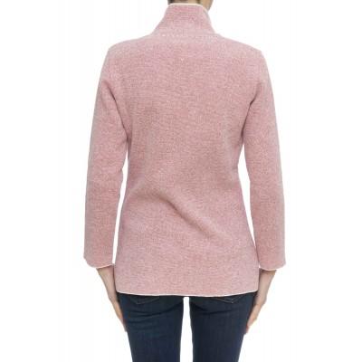 Giacca donna - 513/e giacca doppio petto effetto spugna