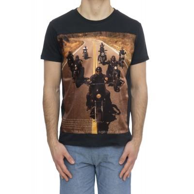 T-shirt - Slub seta uomo