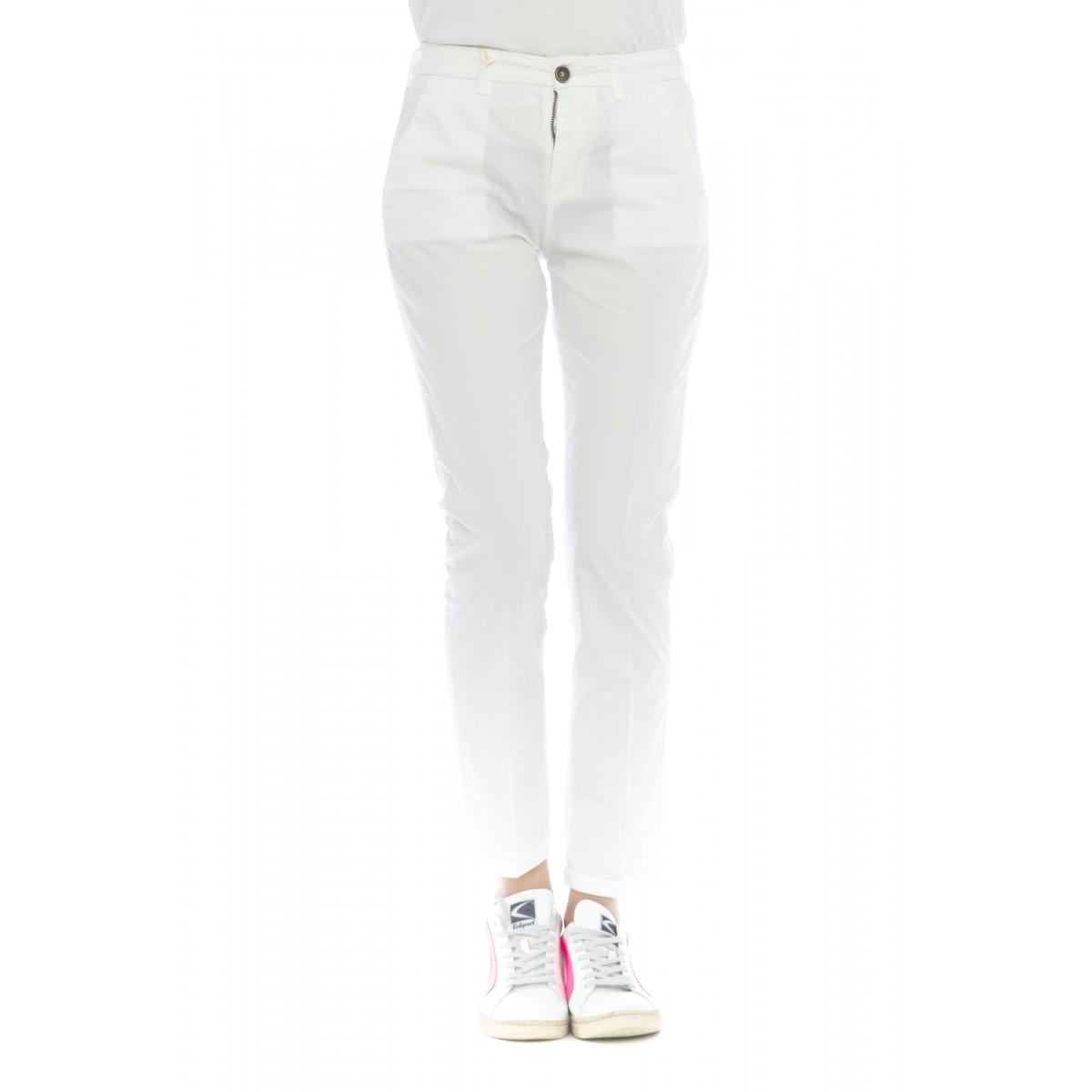 Pantalone donna - Briana 4272 skinny vita alta microperato