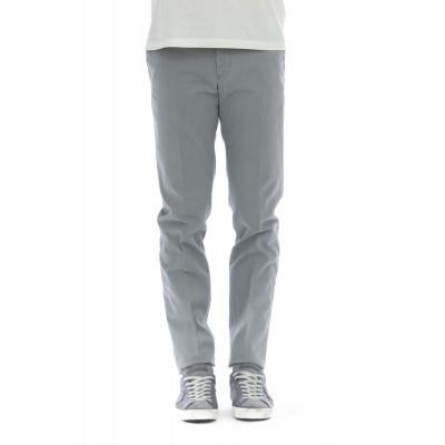 Pantalone uomo - Dl01z tu64 super slim strech microstruttura