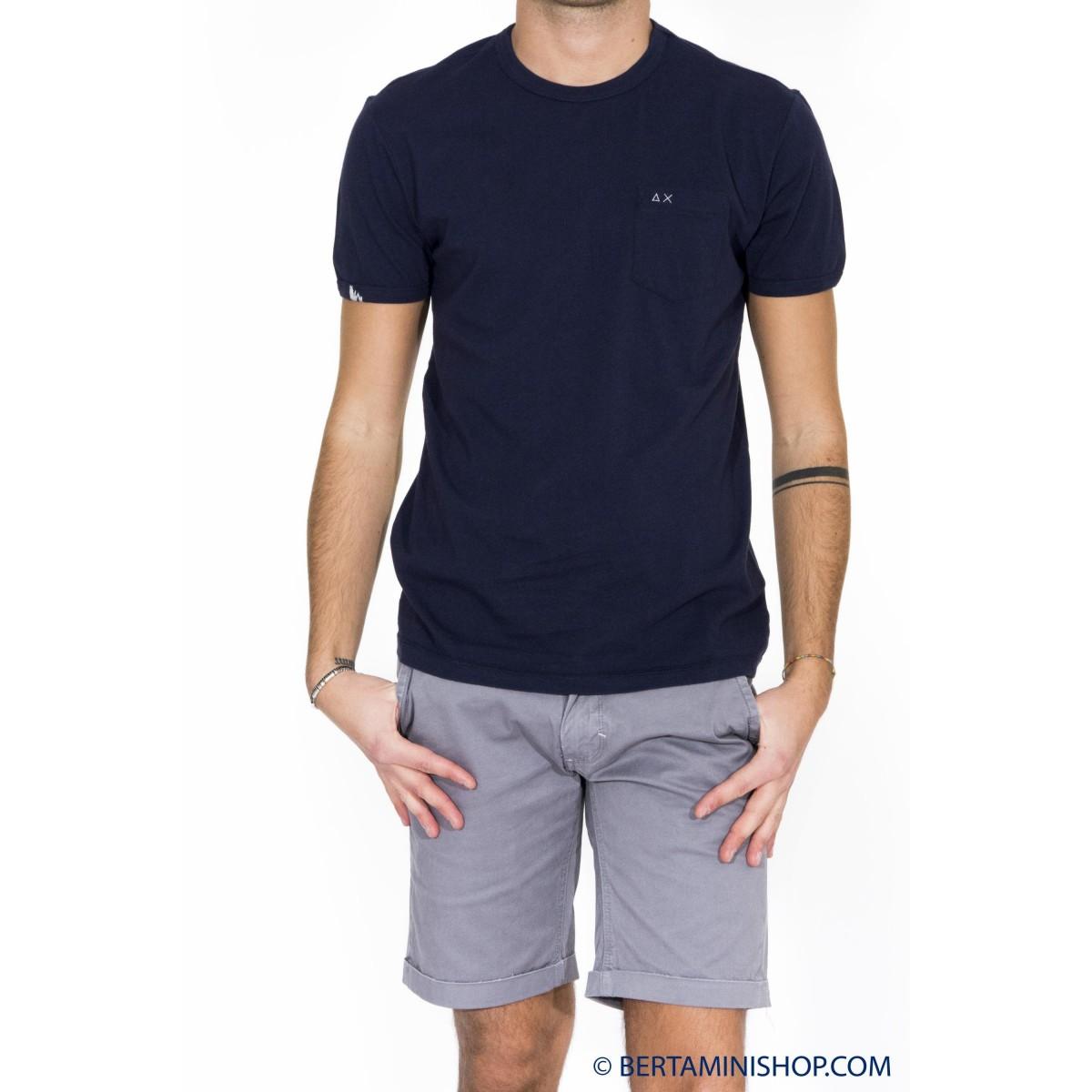 T-shirt uomo Sun 68 - 16120 t-shirt