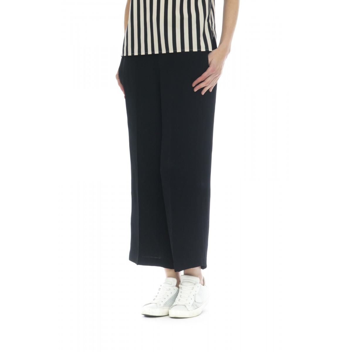 Pantalone donna - 2140 pantalone jaquard farfalla