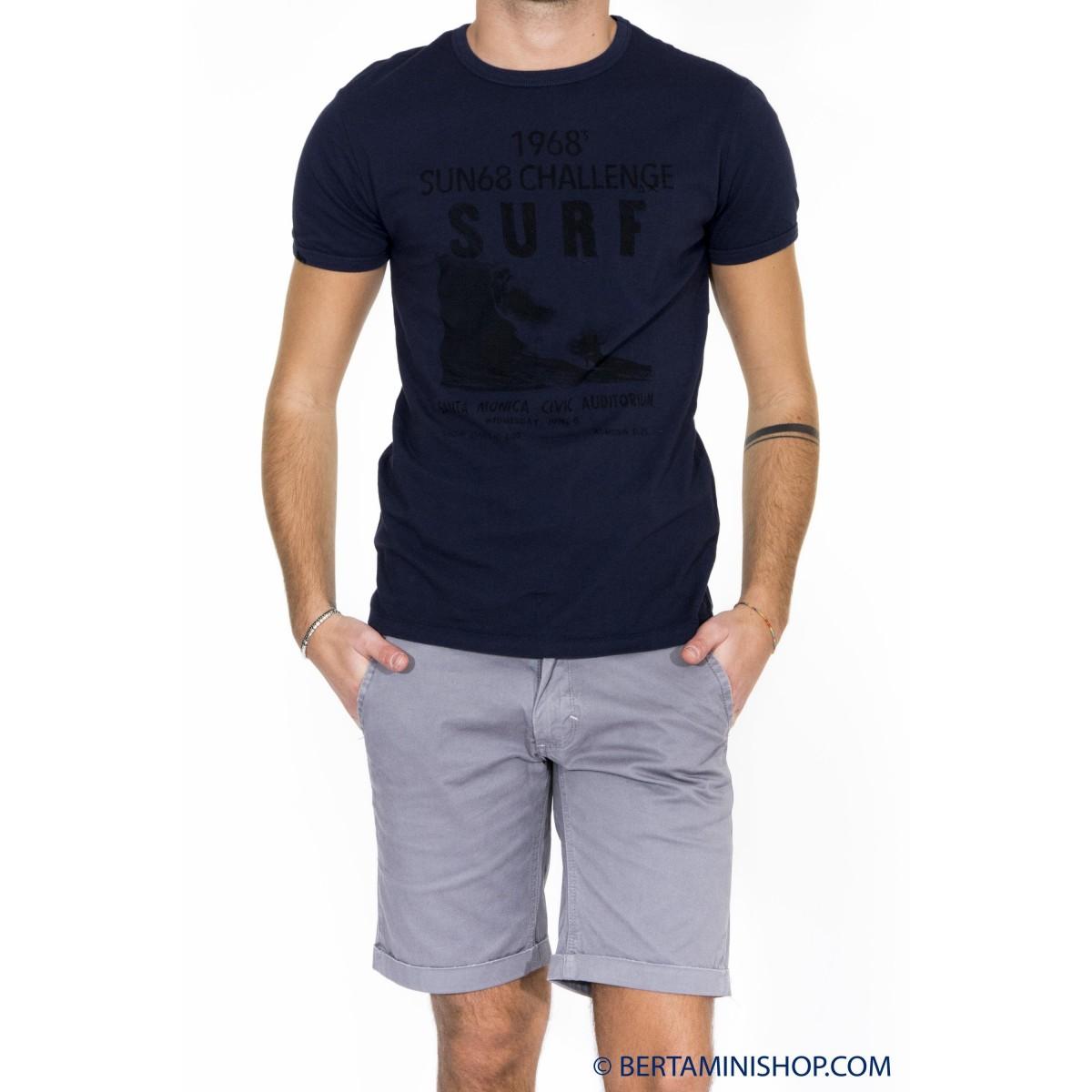 T-shirt uomo Sun 68 - 16125 t-shirt stampa