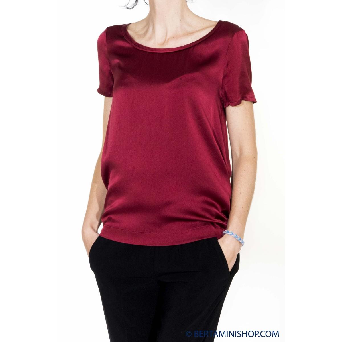 T-shirt donna Jucca - 2105l t-shirt seta lucida