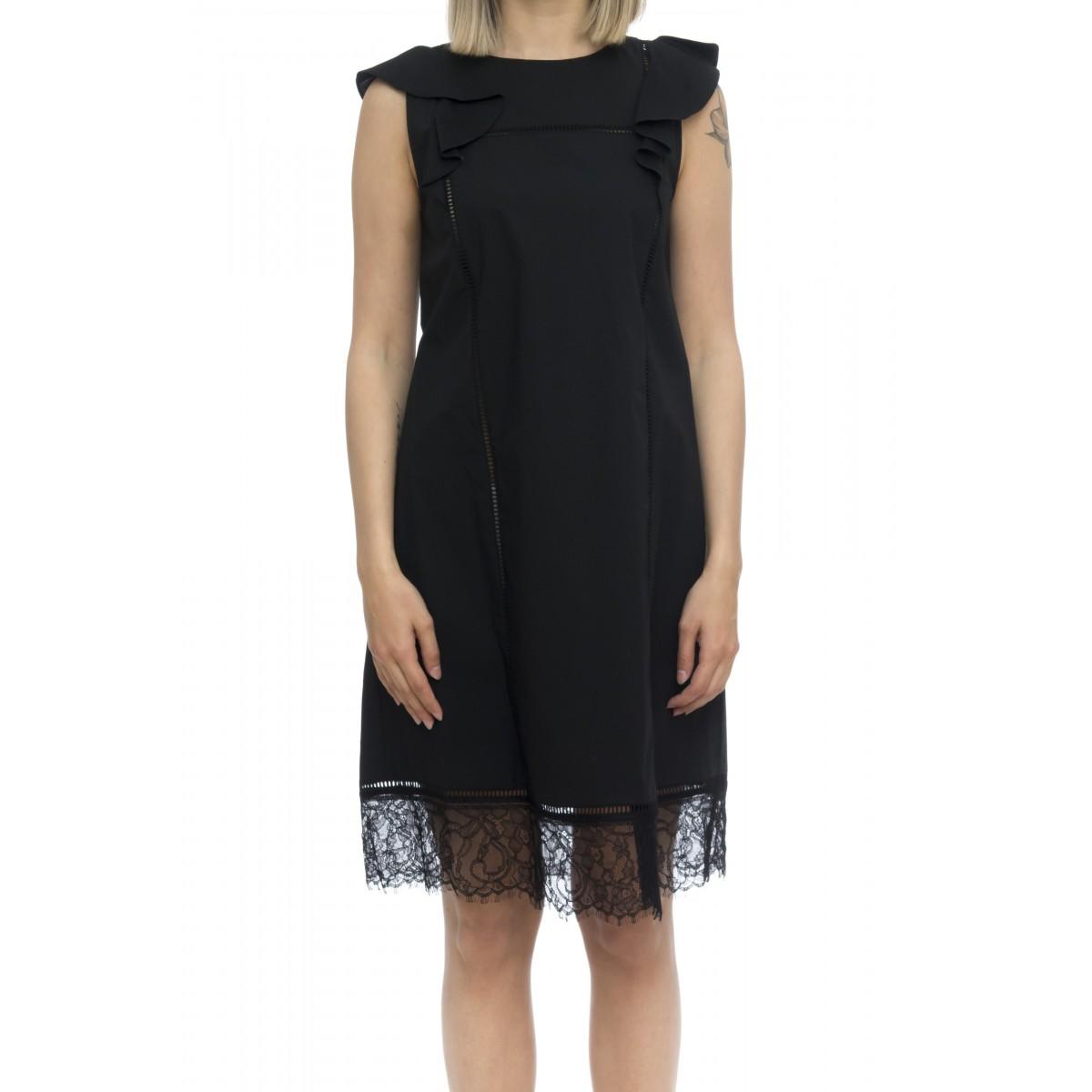 Vestito - 2246 vestito cotone senza manica
