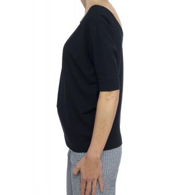 T-shirt donna - 852176 z0480 t-shirt scollata a v manica kimono