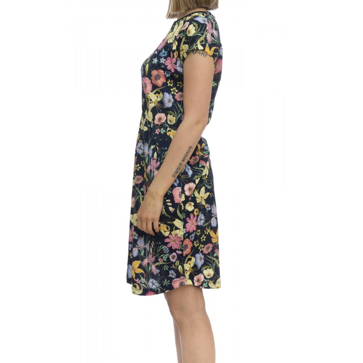 Vestito - A19207 vestito nido ape stampa
