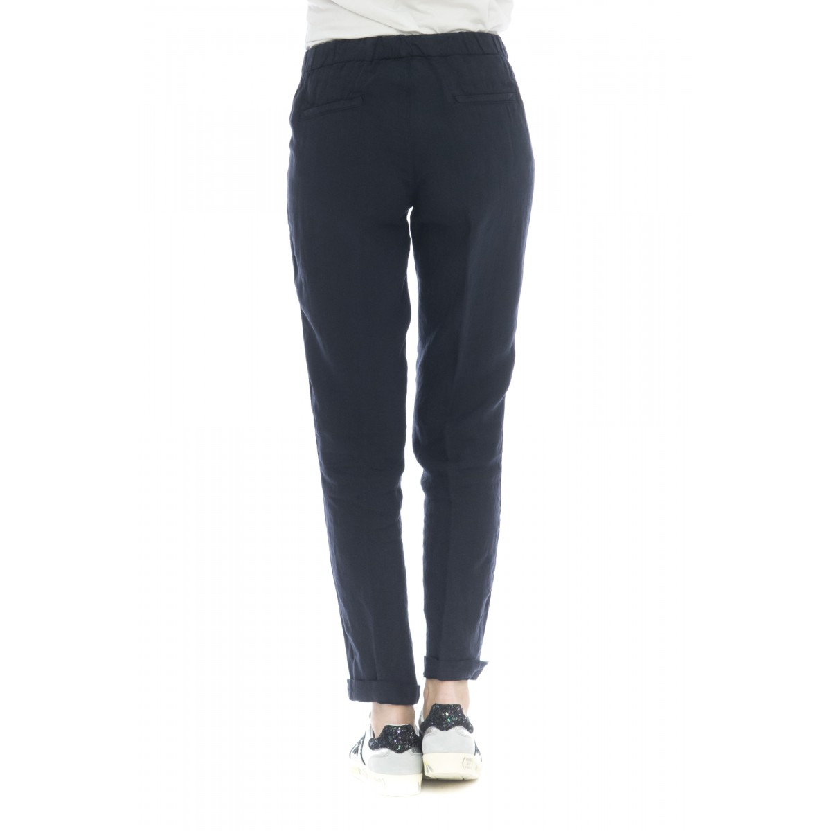 Pantalone donna - Anna 4279 lino coulisse