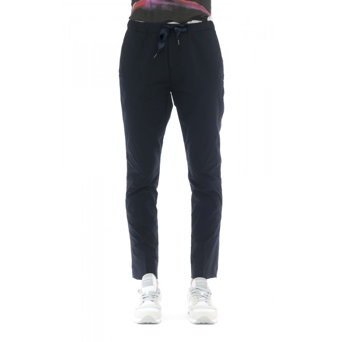 Pantalone donna - Emma 4210 popeline cotone coulisse
