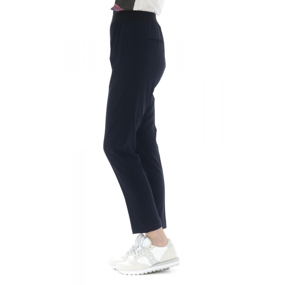 Pantalone donna - J4101 pantalone sigaretta elastico vito