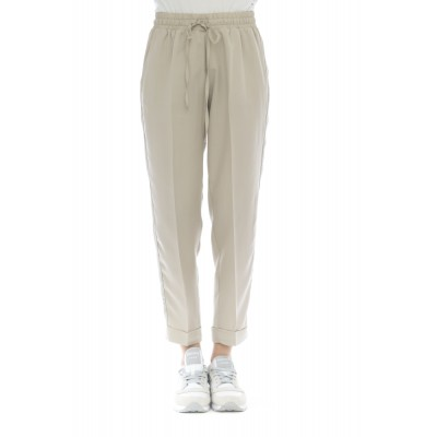 Pantalone donna - Petri pantalone jogging banda