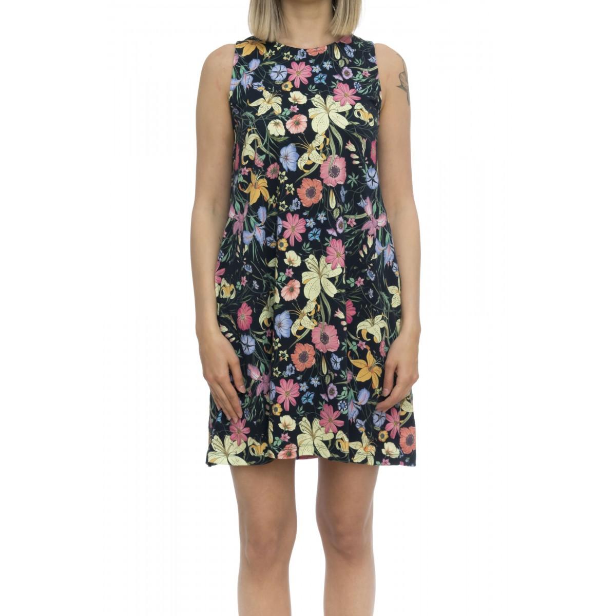Vestito - T19204 vestito senza maniche stampa