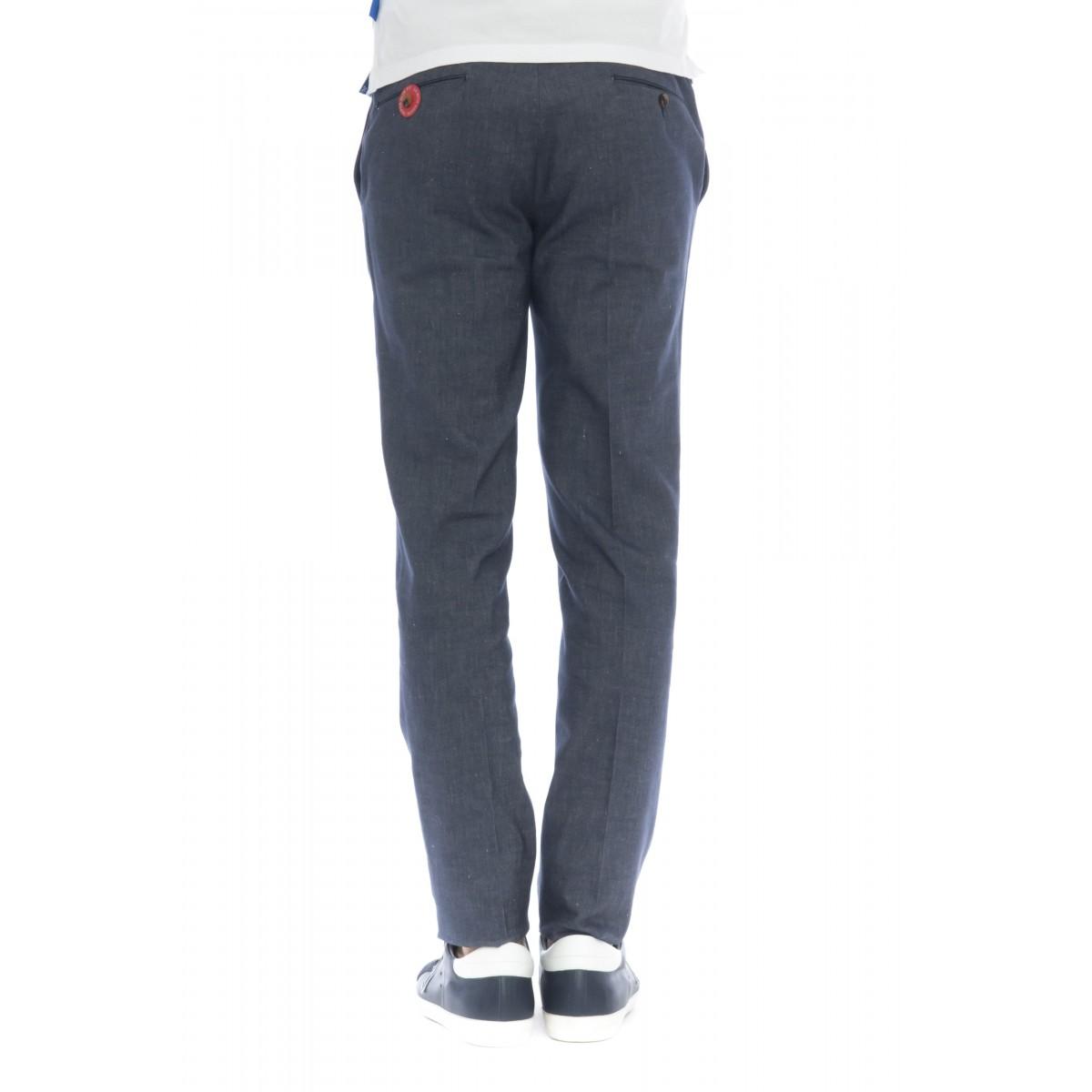 Pantalone uomo - Ds02z le44 drill cotone-lino