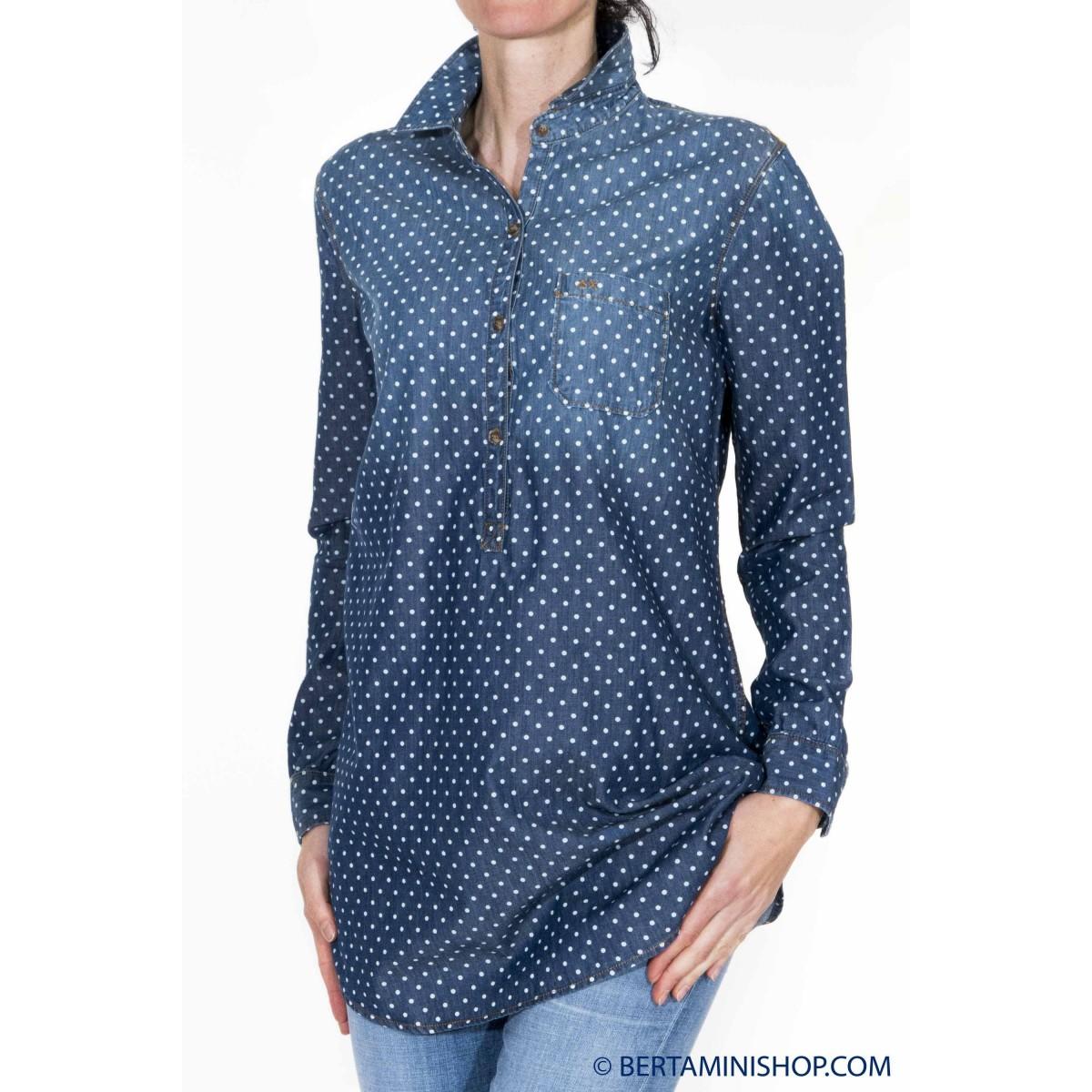 Camicia donna Sun 68 - Sw010 camicia chambrie