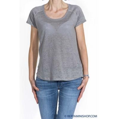 T-shirt donna Sun 68 - 16224 t-shirt cotone lino