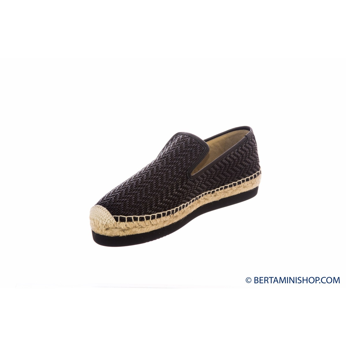 Scarpa Palomitas - Paola bl02 natural black leather