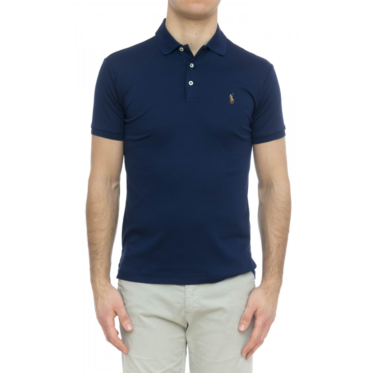 Polo - 652578 polo slim pima cotton
