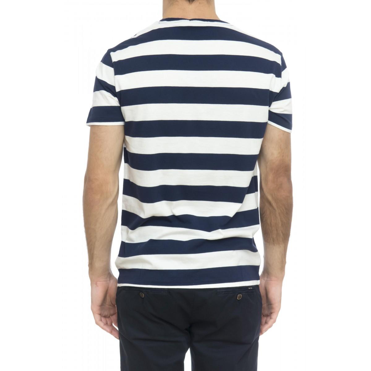 T-shirt uomo - 740882 t-shirt rigata